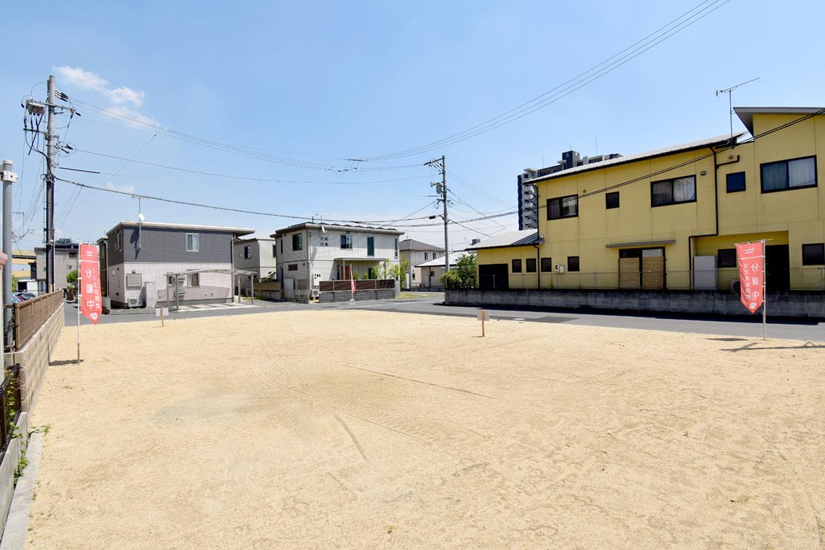 神辺新道上の新分譲地