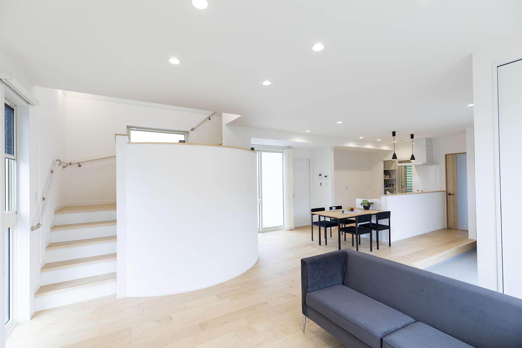スキップフロアの家 モデルハウス