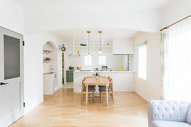 〈貸切見学対応〉carina「南イタリアの白い家」モデルハウス