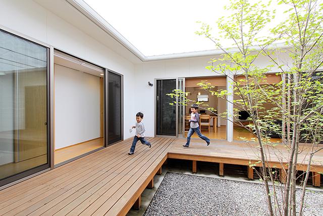 遠い将来も見据えた、シンプルな家づくり