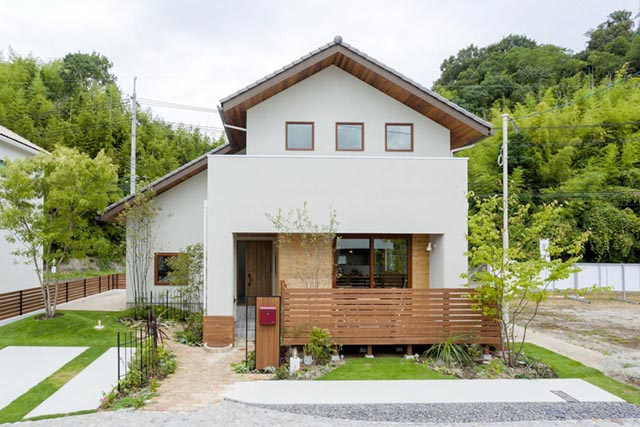 注文住宅の外観が映える!家の見た目を左右する「形」「色」「素材」「外構」