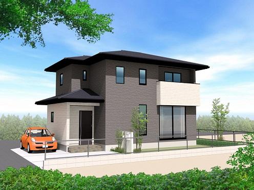 〈注文住宅実例〉I様邸 家事設備が充実したシックモダンなお家
