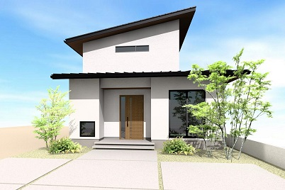 N様邸 デザインシリーズ「LIF」をイメージした和モダン住宅