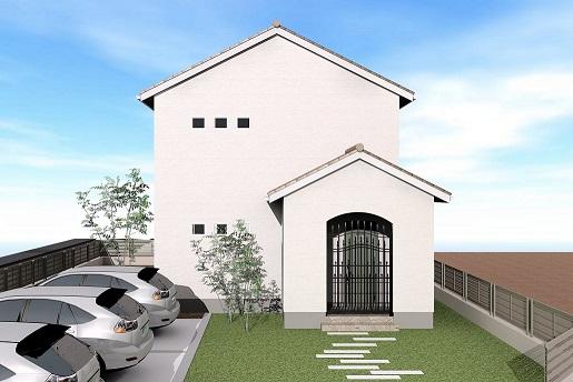 T様邸 デザインシリーズ「carina」をモチーフにしたスキップフロアのあるお家