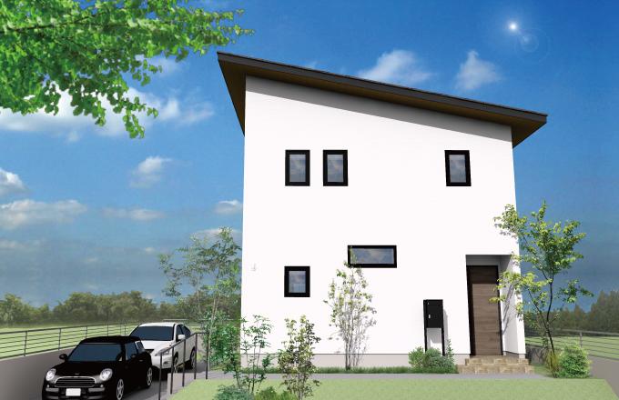 〈実例見学会〉H様邸 シンプル&コンパクトで収納の充実の30坪の家